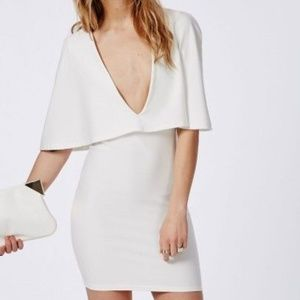 NWT Missguided Cape Bodycon Dress